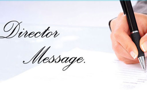 NCVERI MESSAGE FROM DIRECTOR